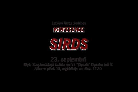 Rīga, 2016.gada 23.septembris – Konference – Sirds