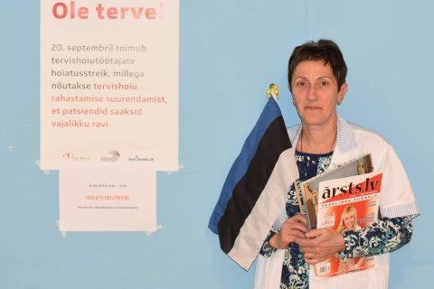 Ārstu streiks Igaunijā, Valgas piezīmes