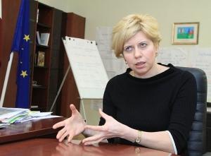 Anda Čakša (Foto - Karīna Miezāja)