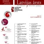"""Septembra numurs """"Latvijas Ārsts"""""""