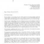 Latvijas Ārstu biedrības vēstule