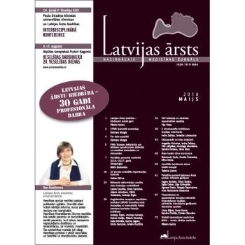Latvijas Ārsts – 2018 Maijs