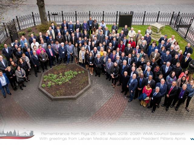 Kas ir Pasaules Medicīnas asociācija,  kuras padomes sēde 26.–28. aprīlī notika Rīgā