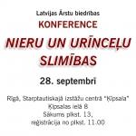 Konference – Nieru un urīnceļu slimības 28. septembrī