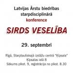 29.septembris-Starpdisciplinārā konference – Sirds veselība