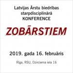 Starpdisciplinārā konference ZOBĀRSTIEM/16. februāris, Rīga, RSU