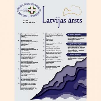 Latvijas Ārsts – 2019 Februāris
