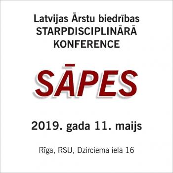 Starpdisciplinārā konference SĀPES 11. maijs, RSU, Dzirciema iela 16