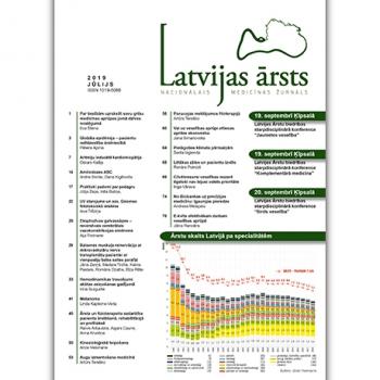 Latvijas Ārsts – 2019 Jūlijs