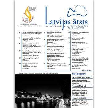 Latvijas Ārsts – 2020 Janvāris
