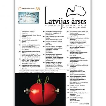 Latvijas Ārsts – 2020 Marts/ Aprīlis