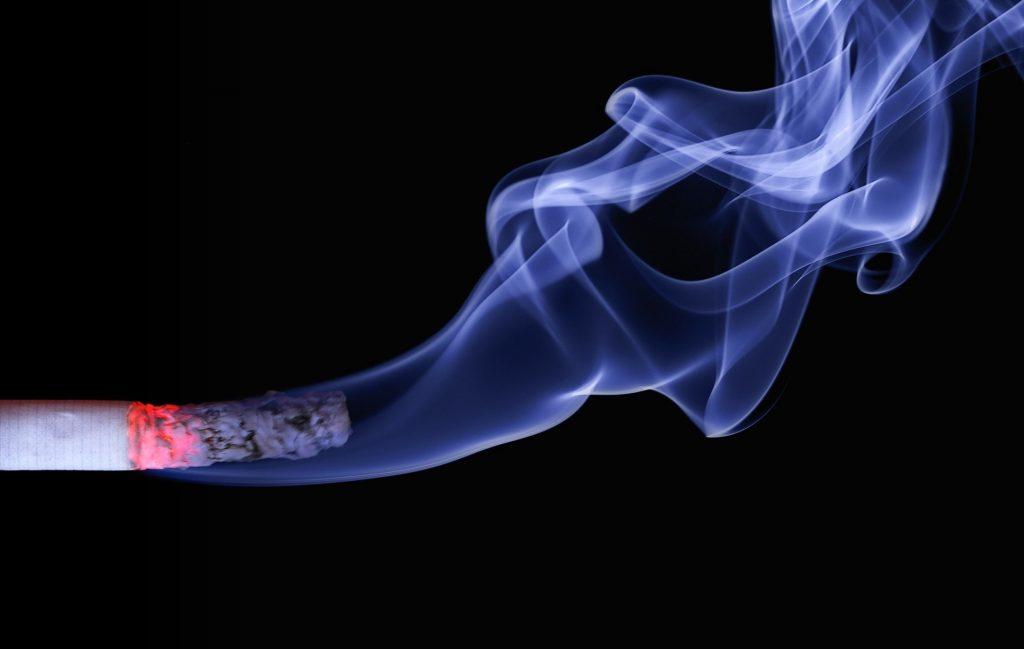 tabakas ir hipertenzija